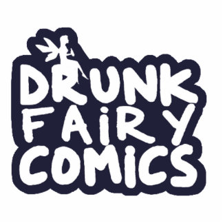 Drunk Fairy Comics Stacked Magnet Photo Cutouts