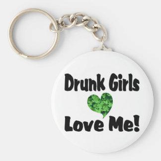 Drunk Girls Love Me Keychain
