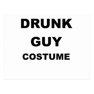 DRUNK GUY COSTUME.png Postcard