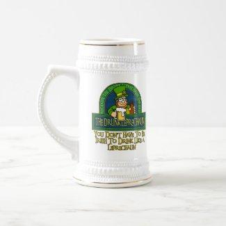 Drunk Leprechaun Mug mug