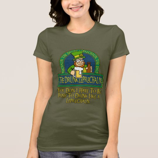 Drunk Leprechaun Shirt 2