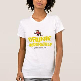 Drunk Moderately (Mr.Liqer Designs) T-Shirt