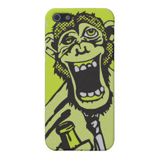 Drunk Monkey iPhone case iPhone 5 Case