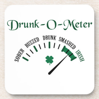 Drunk-O-Meter Drink Coaster