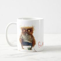 DRUNK OWL COFFEE MUG