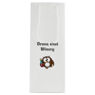 Drunk Owl Winery gift bag
