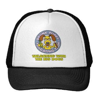 Drunk Puppy Tailgating Hat