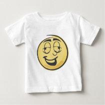 Drunk Retro Emoji Baby T-Shirt