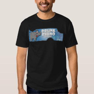 Drunk Rhino Beer T Shirt