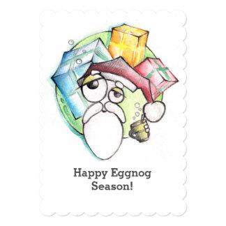 Drunk Santa Xmas Card| custom wish Card
