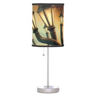Drunk Streetlamps Desk Lamp