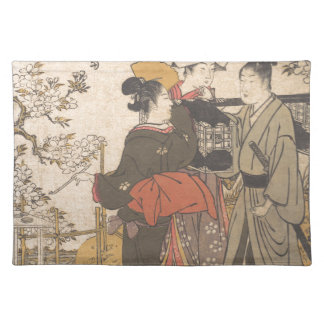 Drunk with Flowers - Japan Cloth Placemat