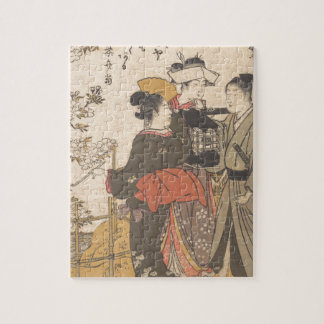 Drunk with Flowers - Japan Jigsaw Puzzle