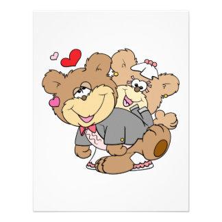 drunk with love cute wedding bears invites