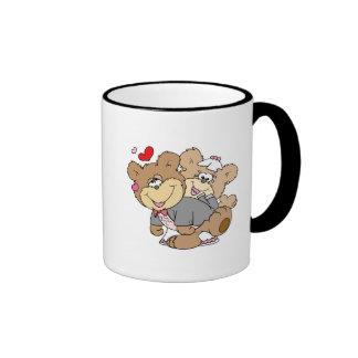 drunk with love cute wedding bears mugs