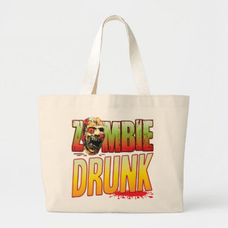 Drunk Zombie Head Bags