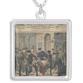 Drunkards in Berlin Silver Plated Necklace