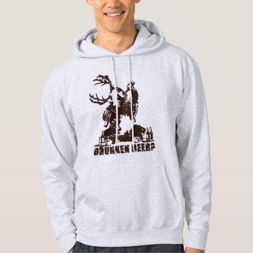 Drunken beer? hooded pullover