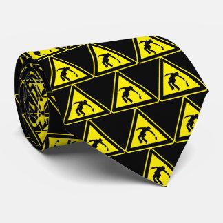 Drunken Danger Markers Tie
