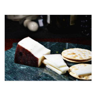 Drunken Goat Cheese Postcard