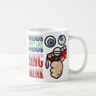 Drunken Karaoke Classic White Coffee Mug