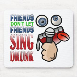 Drunken Karaoke Mouse Pad