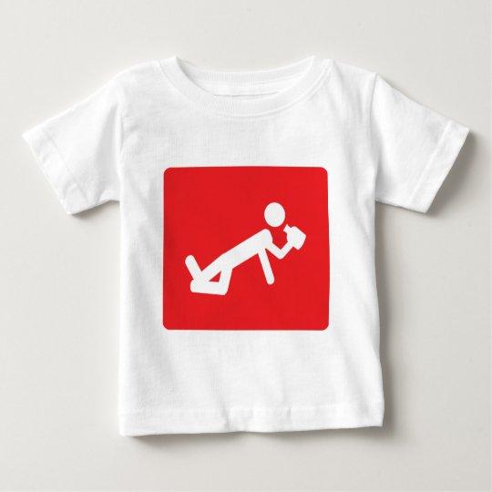 drunken man icon baby T-Shirt