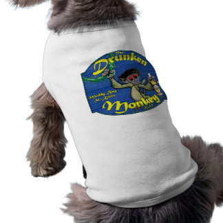 Drunken Monkey Bar Doggie T-shirt