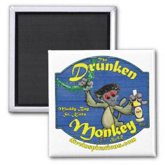 Drunken Monkey Bar Magnet