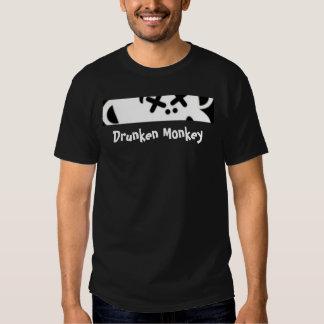 Drunken Monkey Peek T-Shirt Black
