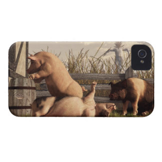 Drunken Pigs iPhone 4 Case-Mate Cases