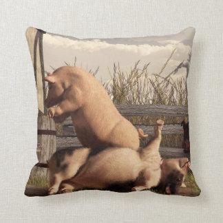 Drunken Pigs Pillow