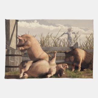 Drunken Pigs Towel