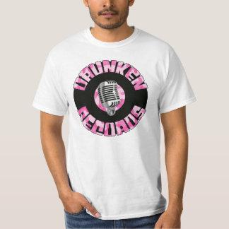 Drunken Records Pink Camo T-Shirt