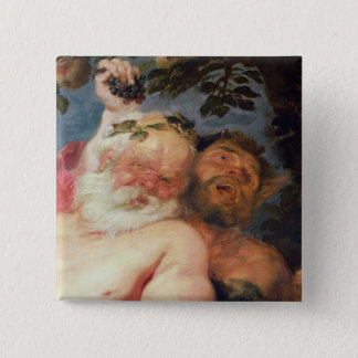 Drunken Silenus Supported by Satyrs, c.1620 Button