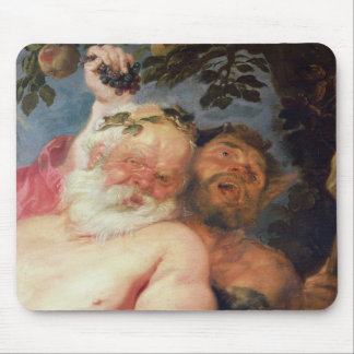Drunken Silenus Supported by Satyrs c 1620 Mousepad