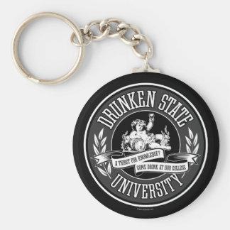 Drunken State University Keychain