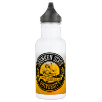 Drunken State University Water Bottle