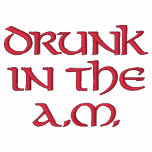 DrunkIn TheA.M. Embroidered Polo Shirt