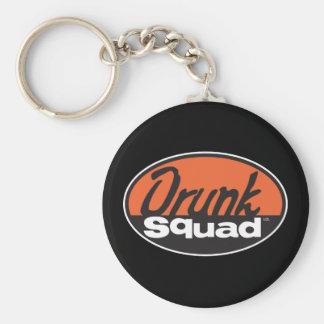 DrunkSqua_02 Basic Round Button Keychain
