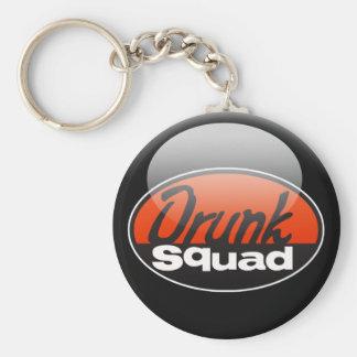 DrunkSquad Basic Round Button Keychain