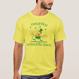 Drunky McDrunkerson Funny St. Patrick's Day T-Shirt