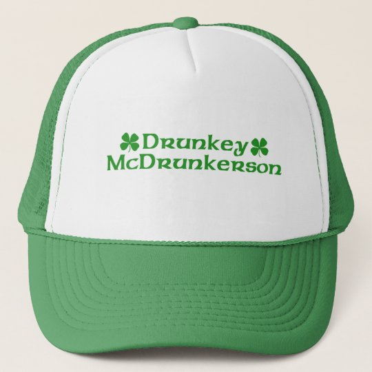 Drunky McDrunkerson Hat