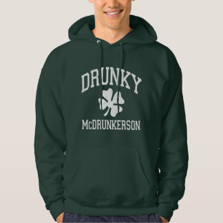 Drunky McDrunkerson Hooded Pullover