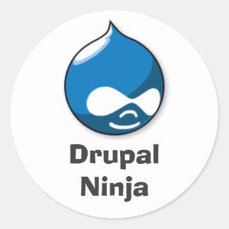 Drupal Ninja Etiquetas Redondas