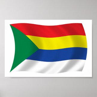 Druze Flag Poster Print