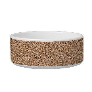 Druzy crystal - rose gold color bowl
