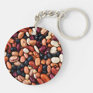 Dry beans keychain