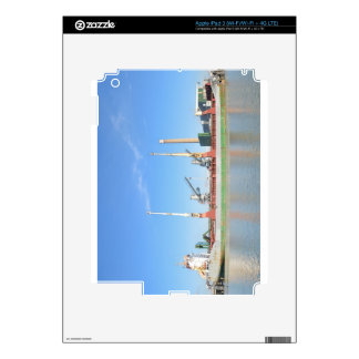Dry Cargo Ship Decal For iPad 3