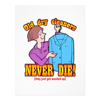 Dry Cleaners Flyer